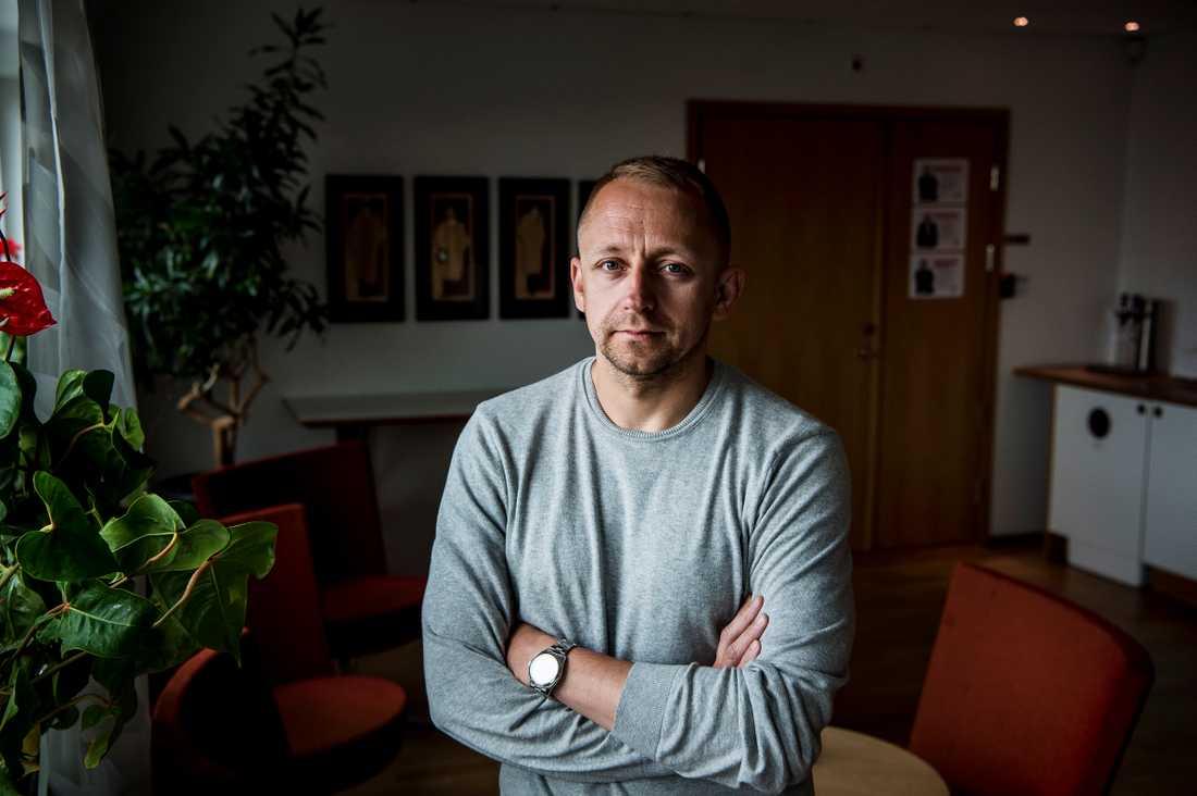 Socialdemokraternas valgeneral John Zanchi, 42.