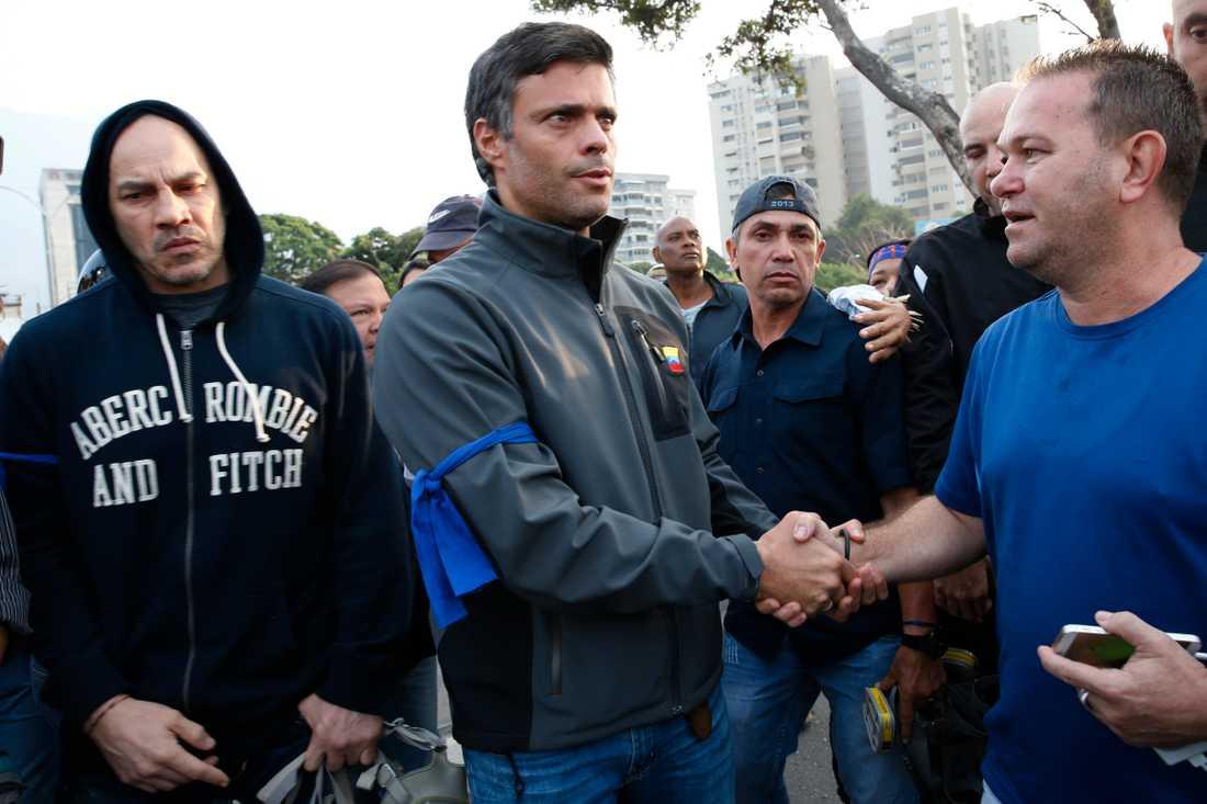 Aktivisten Lepoldo Lopez.