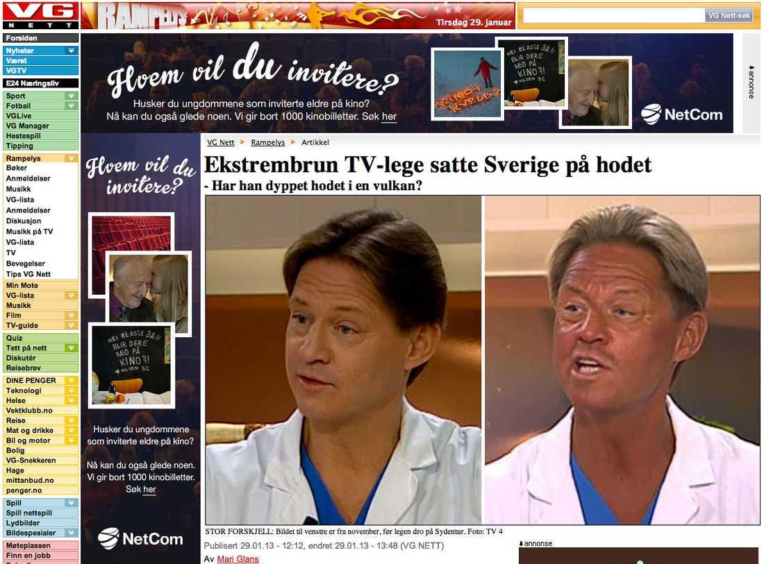 Norska VG.no.