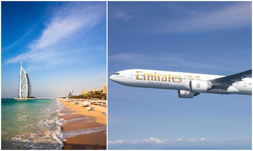 Nu dubblar Emirates sina avgångar från Arlanda till Dubai
