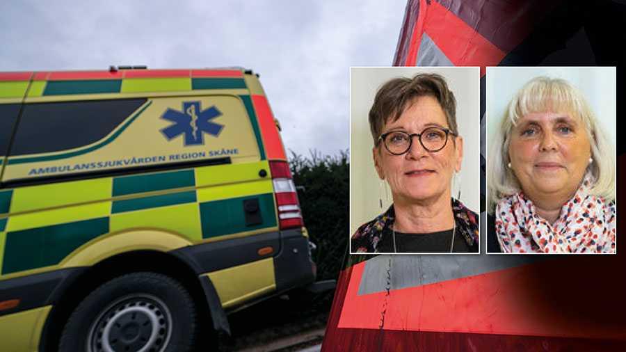 Vi socialdemokrater kräver att uppdraget för den befintliga iva-ambulansen förlängs så att det inte uppstår något kapacitetsglapp. Och att den nya organisationen av iva-transporter förankras med den berörda vårdprofessionen, skriver Carina Svensson och Carina Dilton.