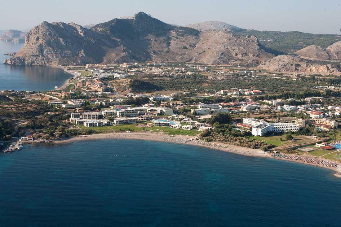 Ving lanserar också Kolymbia på östra sidan av grekiska ön Rhodos.