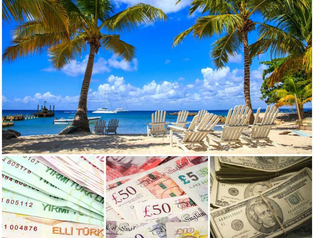 Svag svensk valuta omgärdar utlandssemestern den här sommaren.