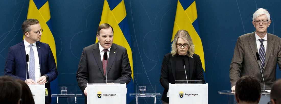 Det är inte ovanligt att omfattande, djupa kriser gynnar sittande regering, skriver Aftonbladets Lena Mellin.
