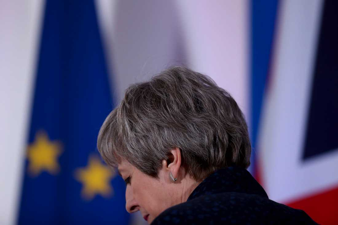 Brittiska premiärministern Theresa May. Arkivbild.