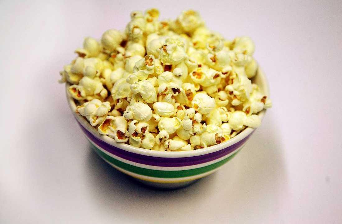 Nyttigt fredagsmysPopcorn kan vara bra för dig, visar ny forskning.