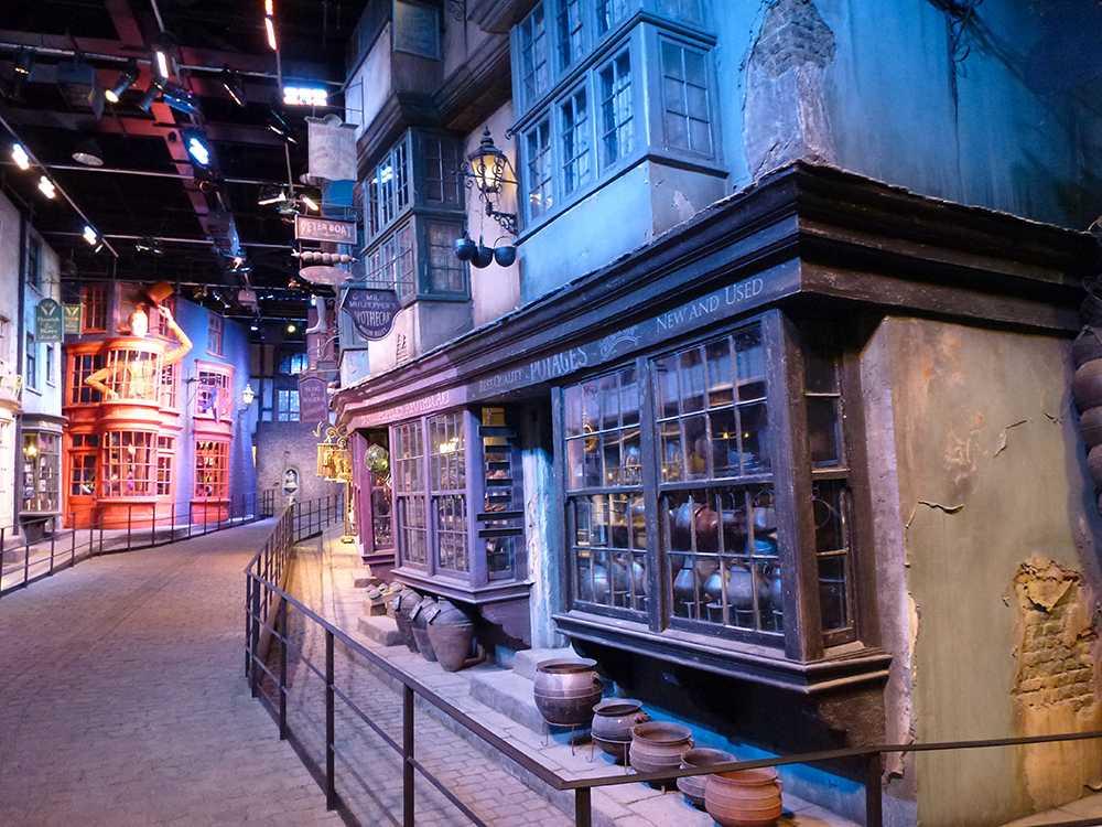 Inspelningsstudion av Harry Potter