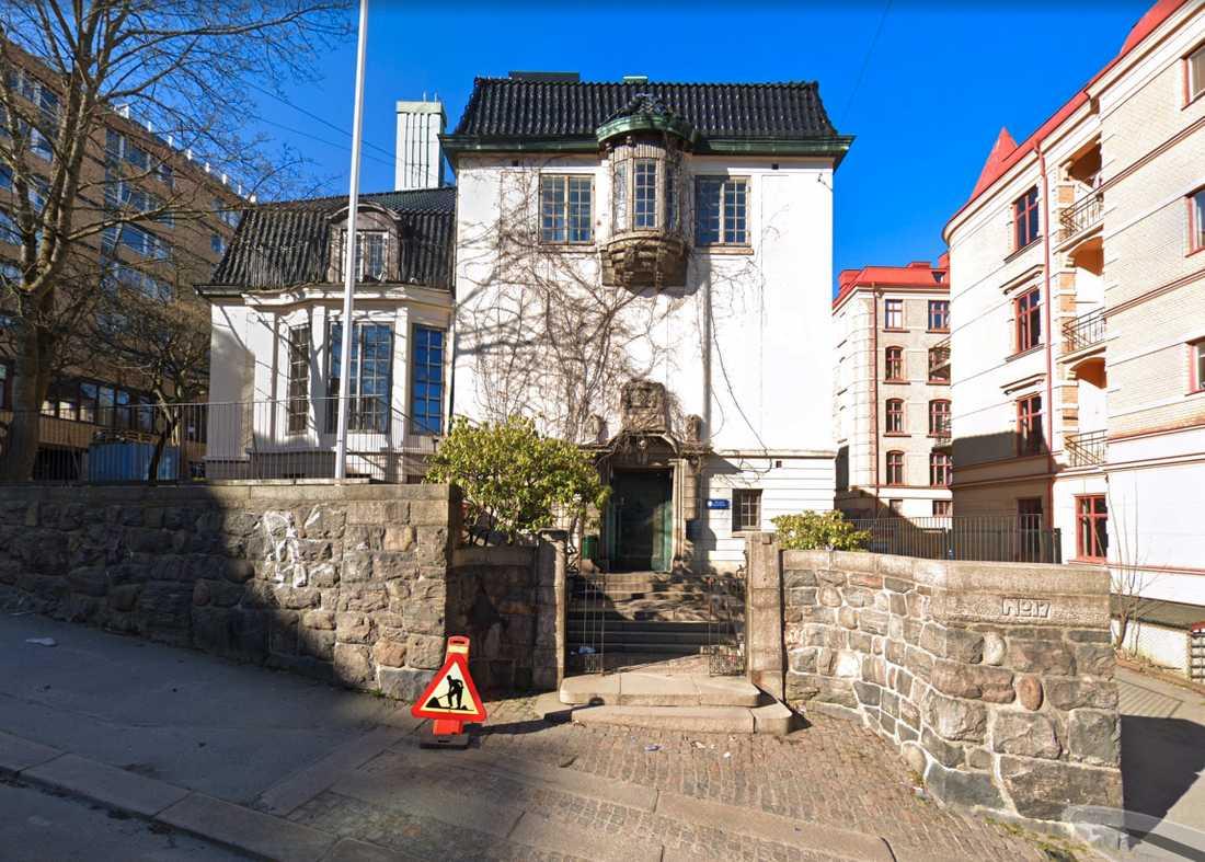 Jensens grundskola i Göteborg.