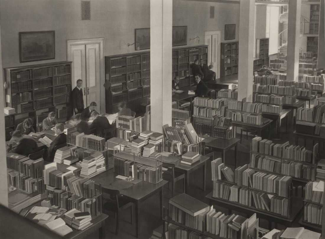 """""""Biblioteket"""", 2010, tusch på papper."""