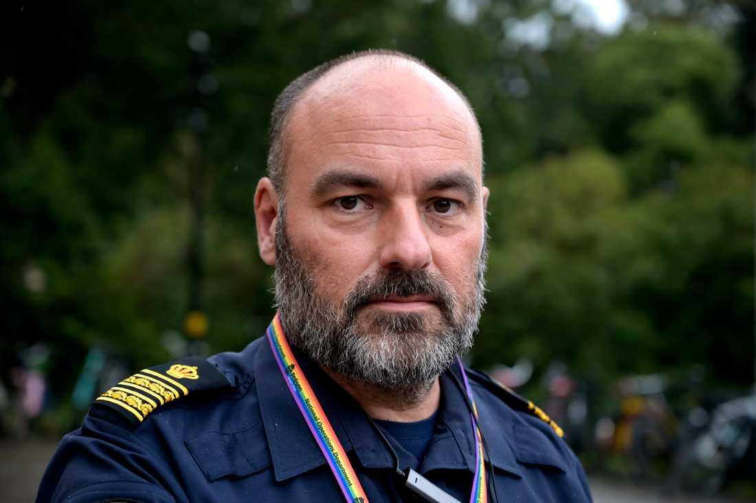 – Den grundläggande utbildningen är viktig, men det är ännu viktigare med kontinuerlig vidareutbildning, säger gränspolischef Patrik Engström.