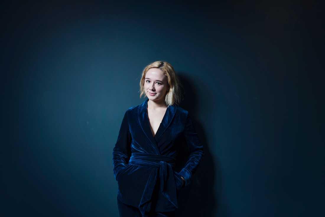 "Alba August kommer tillbaka i den danska Netflix-serien ""The Rain"" i augusti. Arkivbild."
