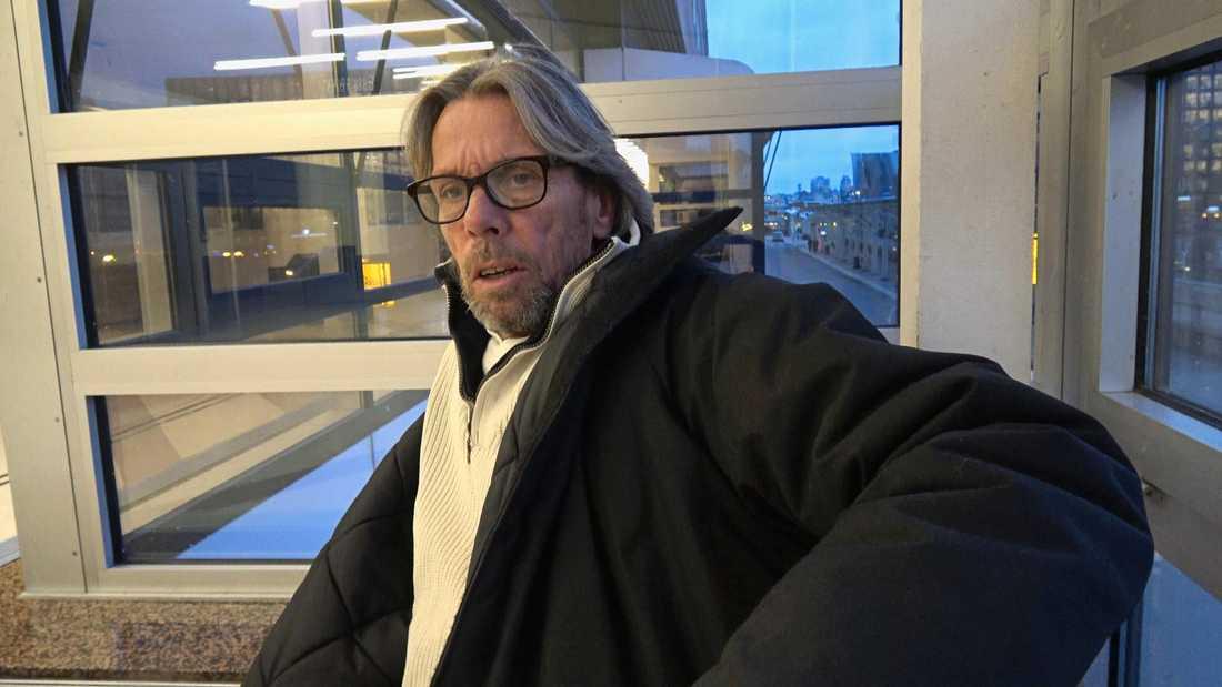 """""""Det här är inget lätt liv. Men jag skäms inte för det längre"""", säger hemlöse Anders i SVT:s serie """"36 dagar på gatan""""."""