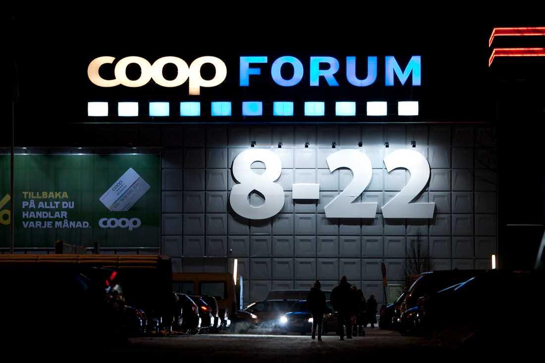 Coop är drabbade av de falska sms:en.