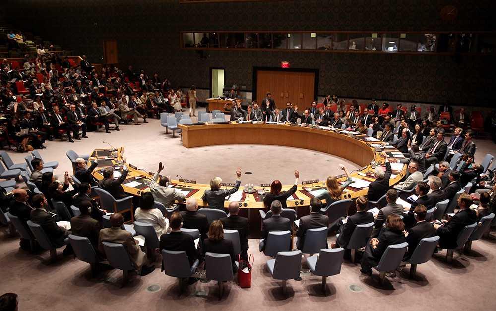 FN:s säkerhetsråd.