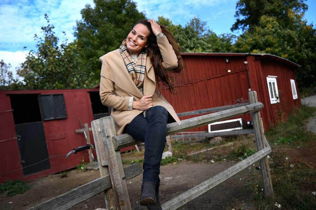 """Sigrid Bergåkra i """"Bonde söker fru""""."""