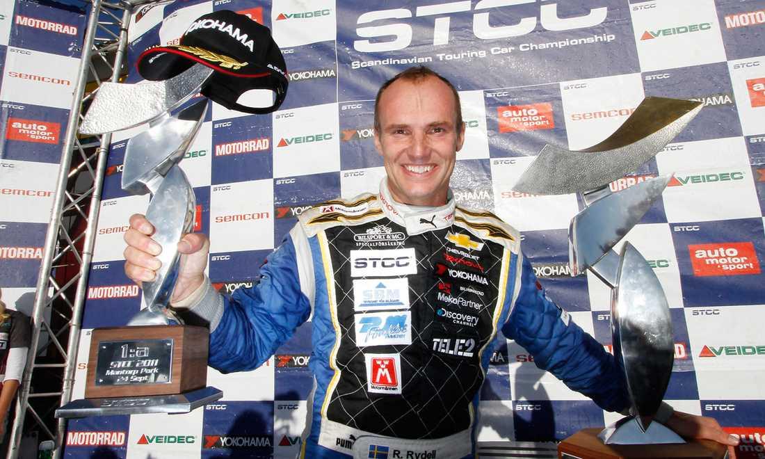 Rickard Rydell vann STCC 2011