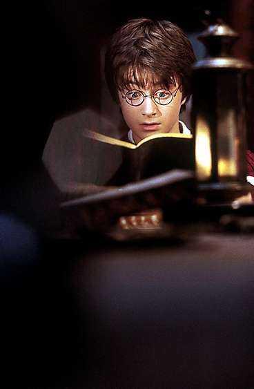 """Daniel Radcliffe i filmen """"Harry Potter och hemligheternas kammare""""."""