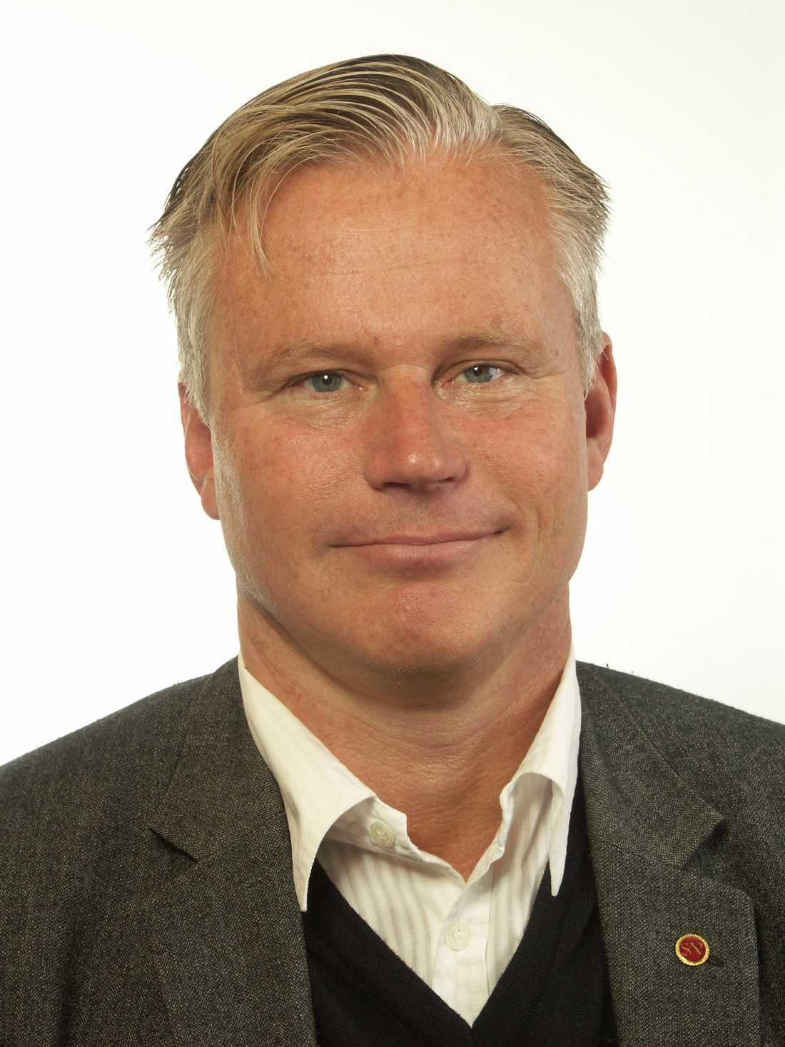 Hans Ekström, socialdemokratisk ordförande i Sörmland.
