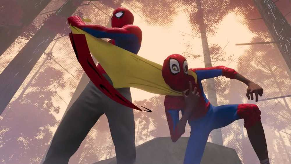 """Spider-Man: Into the Spider-verse""."