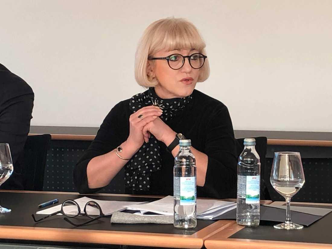 Vesna Bedekovic är demografi- och socialminister i Kroatien, bland annat med ansvar för att försöka få bukt med landets sjunkande folkmängd.
