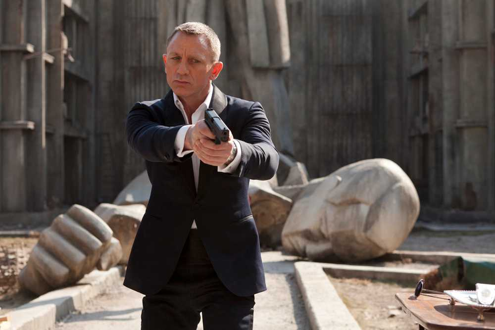 "Daniel Craig som James Bond i ""Skyfall""."