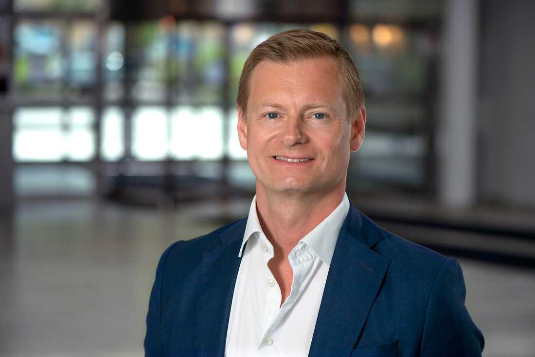 Marcus Svanberg, vd på Länsförsäkringar Fastighetsförmedling.