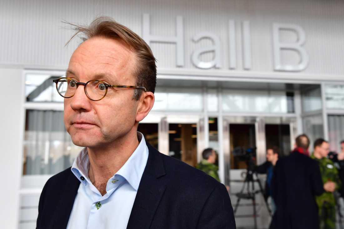 Björn Eriksson, Stockholmsregionens hälso- och sjukvårdsdirektör.