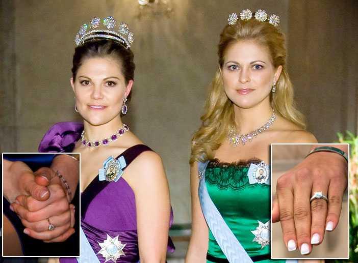 Alla vill ha prinsess-ringar Victorias och Madeleines val inför sina bröllop kommer att påverka hur vanliga svenskar gifter sig.