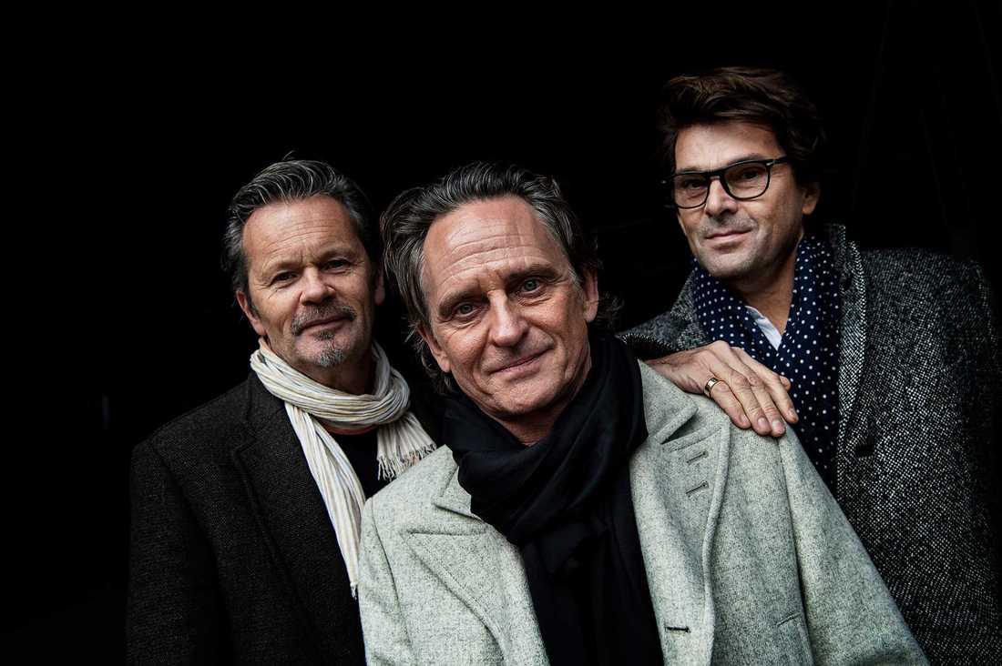 """GES –Anders Glenmark, Tomas """"Orup"""" Eriksson och Niklas Strömstedt."""