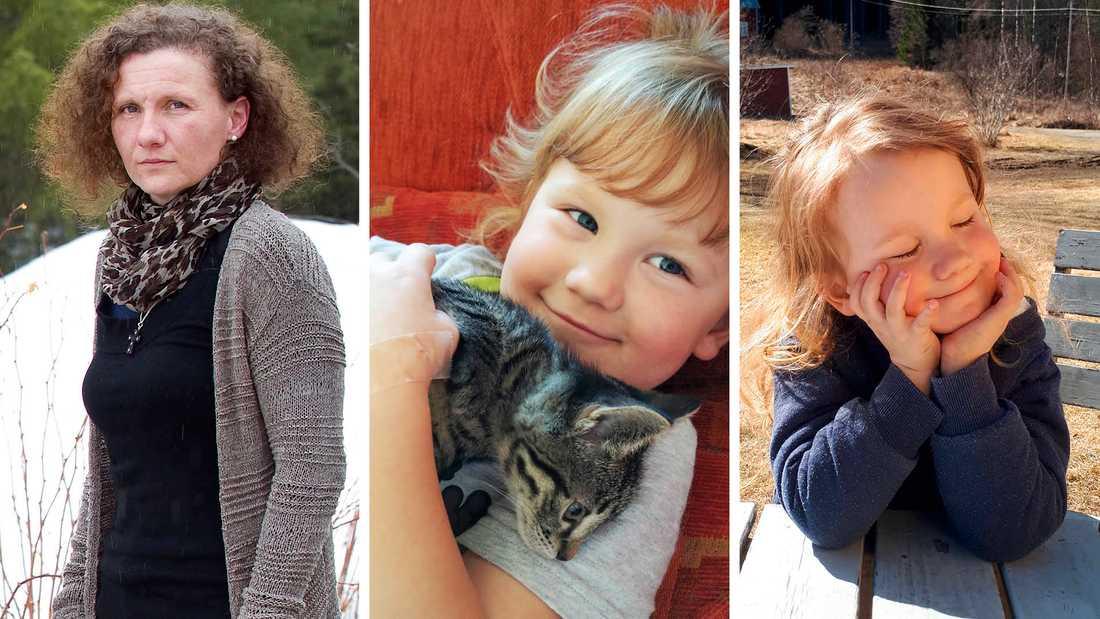 Polinas dotter Anna dog bara 4 år gammal.