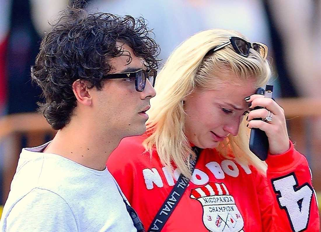 Sophie Turner och kärleken Joe Jonas.
