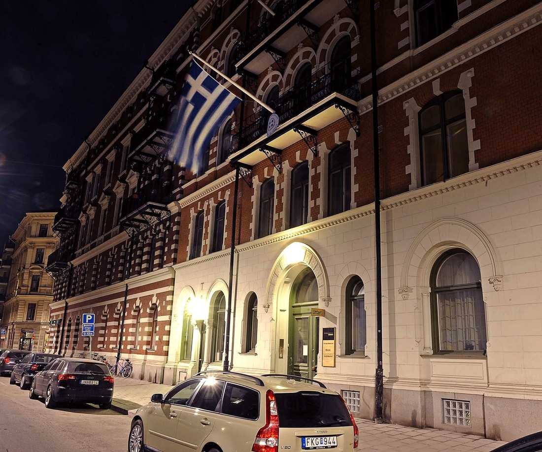 Grekiska ambassaden i Stockholm.