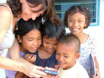 Många reseföretag stödjer olika projekt i världen. Här ett barnhem i Phuket som Mytravel sponsrar.
