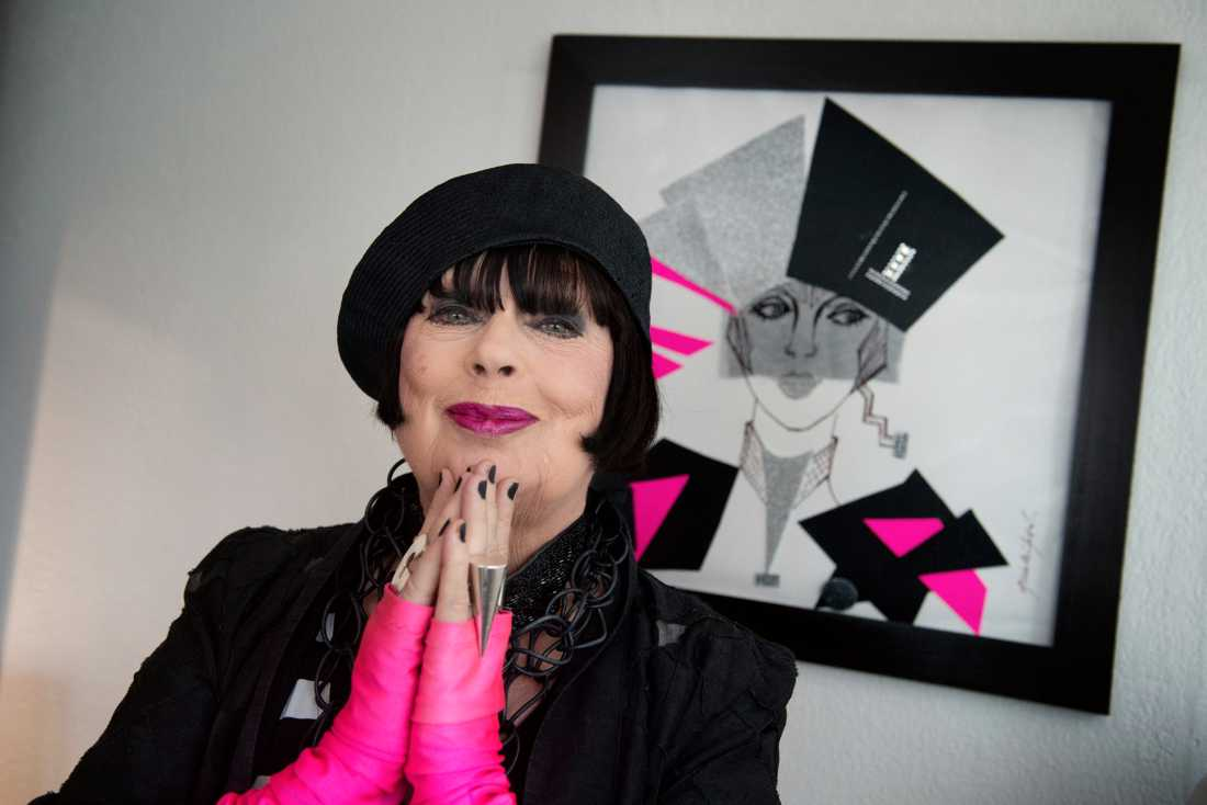 Modeskaparen Gunilla Pontén har gått ur tiden. Arkivbild.