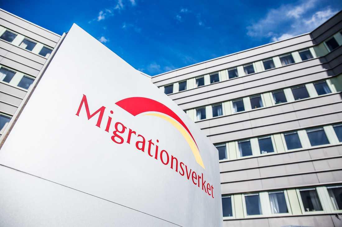 Migrationsverket på Pyramidvägen i Solna.
