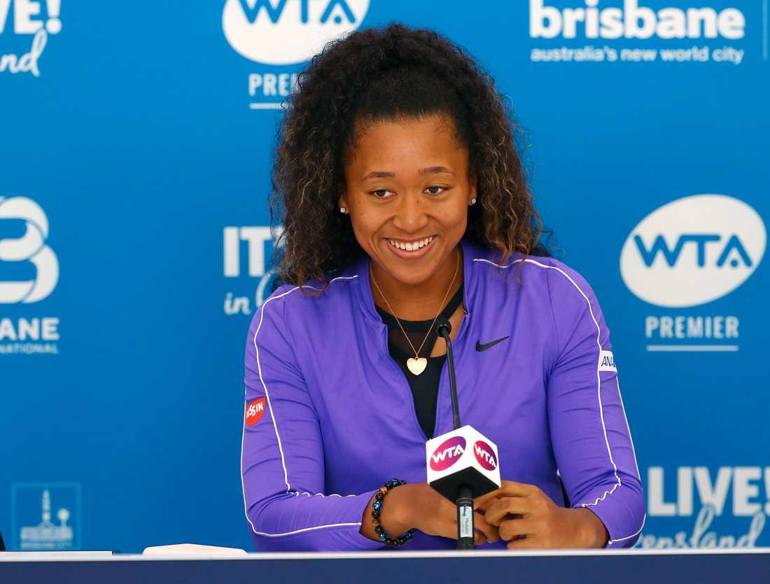 Naomi Osaka inleder tennissäsongen 2020 i Brisbane, Australien.
