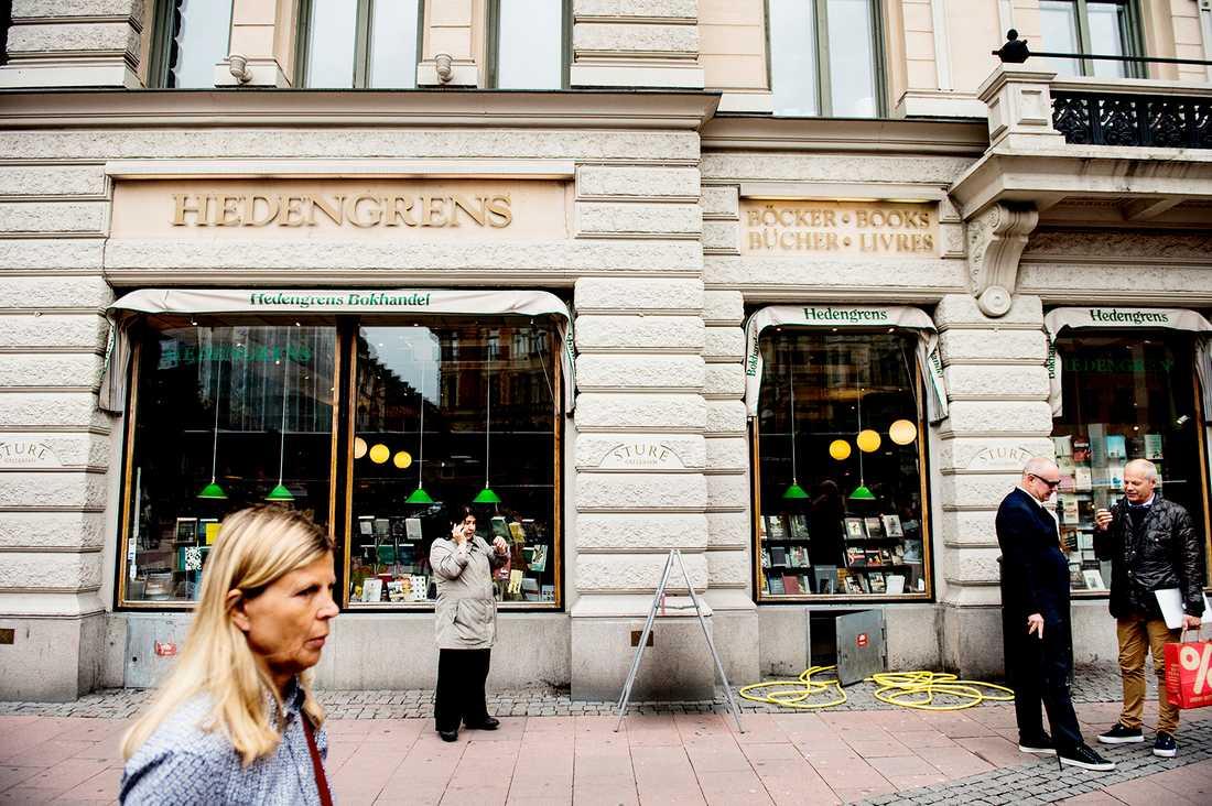 Bokhandeln Hedengrens i Stockholm läggs ner.