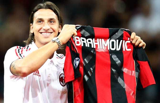 29 augusti skrevs ett nytt kapitel i sagan om Zlatan Ibrahimovic. Under stort jubel presenterades han för Milan-fansen på San Siro. Milan är Zlatans tredje klubb i Italien.