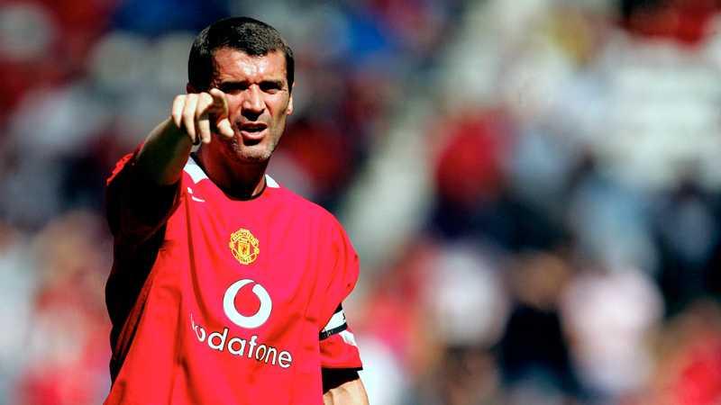 Roy Keane i United-tröjan
