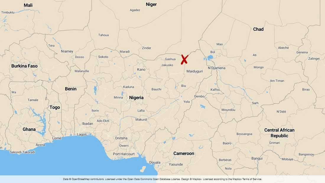 Ett femårigt barn och ytterligare en civil dödades medan en helikopter för humanitär hjälp fick materiella skador när jihadister genomförde ännu en attack i nordöstra Nigeria, enligt FN.