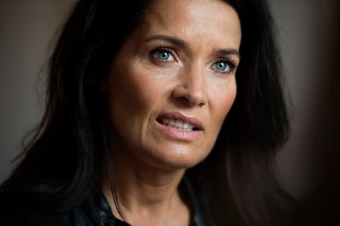 """""""Det blev för svårt att hålla ihop ett distansförhållande, men vi är vänner"""", säger Agneta Sjödin."""