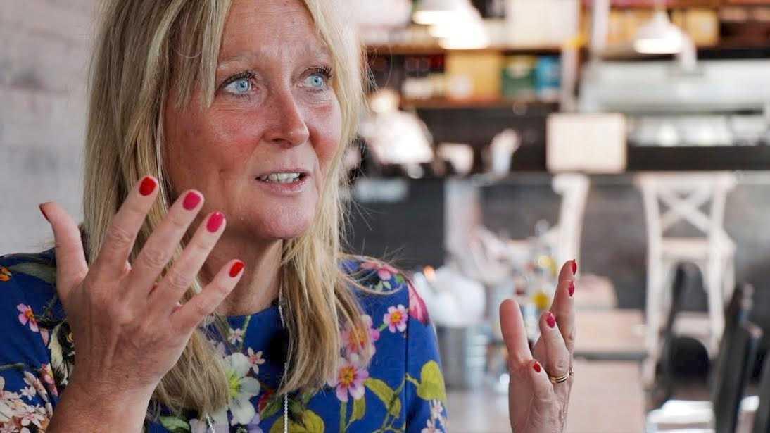 – Att satsa på träning blev mitt sätt att kämpa mot tumören, säger Pamela Andersson.