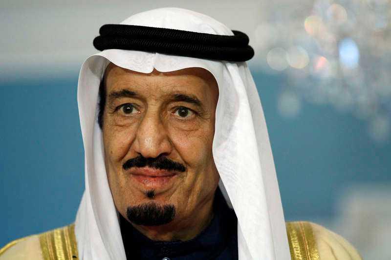 Saudiarabiens kung Salman bin Abdul Aziz.
