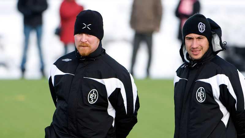 Pettersson har senaste tiden varit assisterande tränare i Malmö FF – men innan dess ungdomstränare i Landskrona.