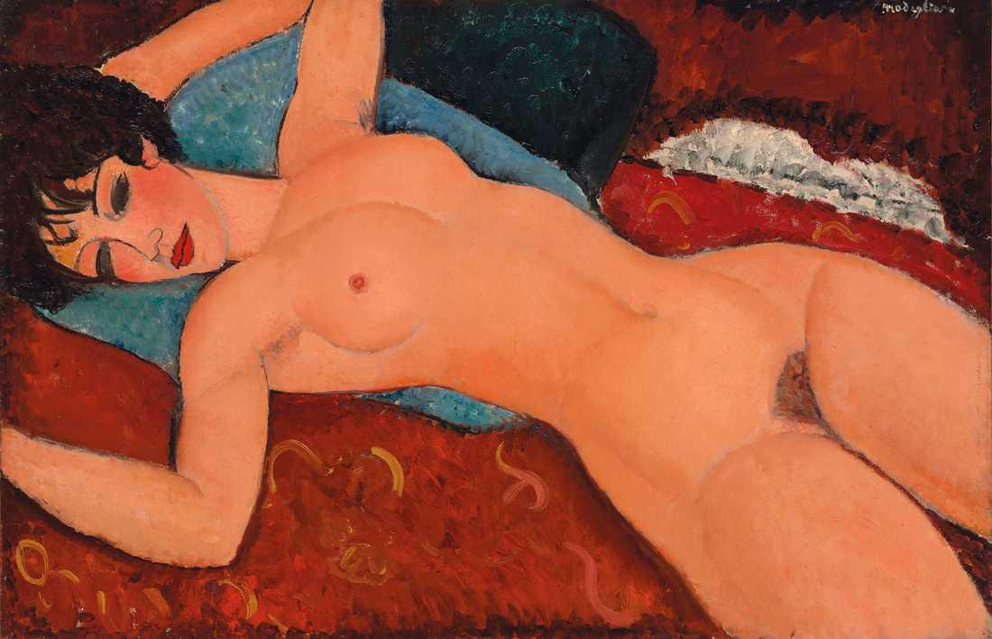 Amedeo Modigliani såld för nära rekordsumma.