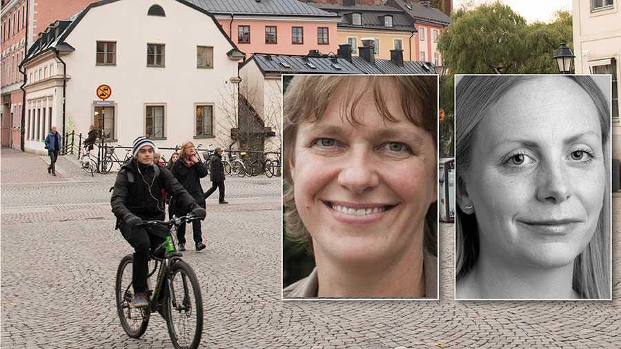 Ska vi klara transportsektorns klimatmål behöver fler i Region Uppsala välja att cykla oftare. I riksdagen finns nu en majoritet för att ändra väglagen så att det går att anlägga fler cykelvägar. Regeringen behöver lyssna på riksdagen och ändra lagen, skriver Jenny Lundström och Moa Rasmusson.