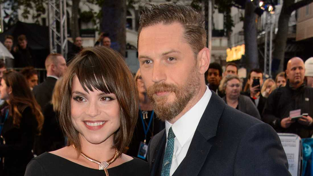 Tom Hardy och Charlotte Riley.