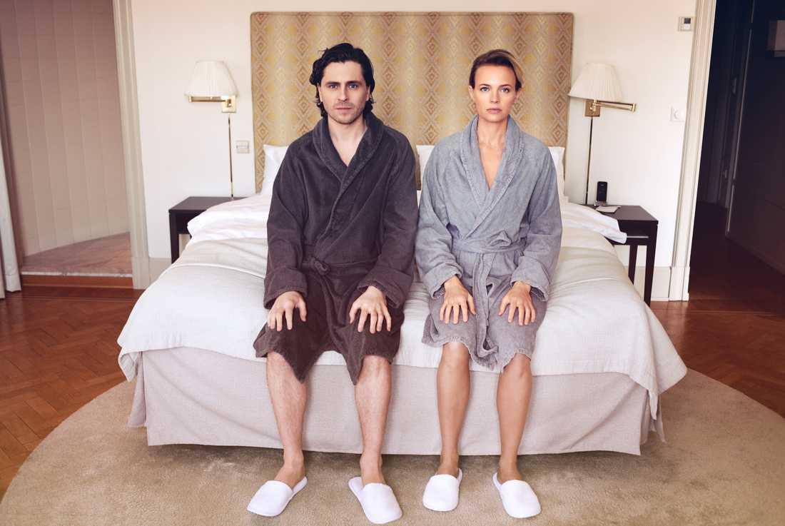 "Josephine Bornebuschs serie ""Älska mig"" kan vinna stort på Kristallen. Pressbild."