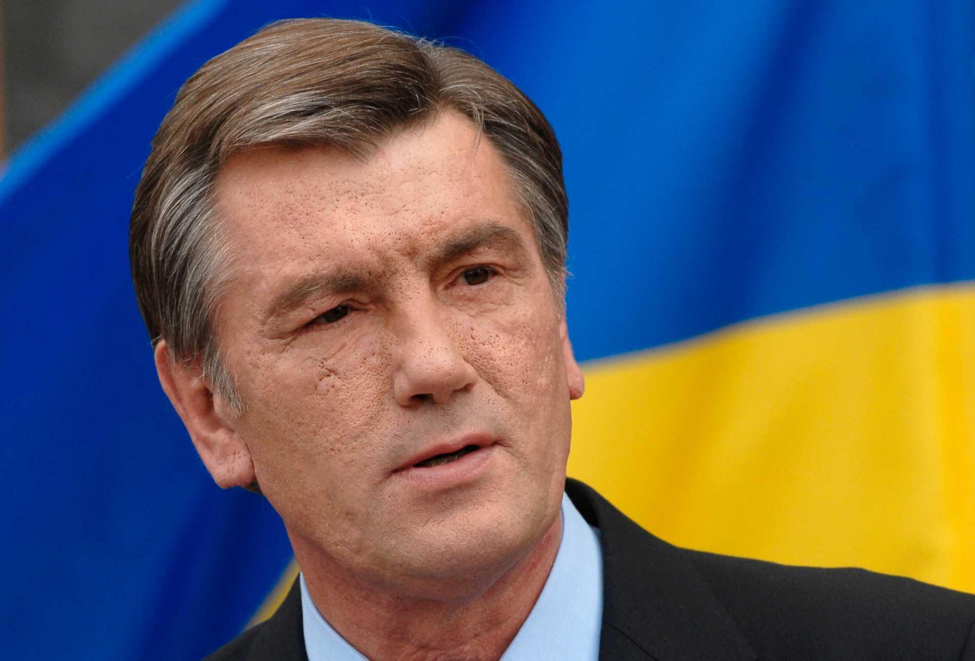 Viktor Jusjtjenko Ukrainas president 2005–2010.