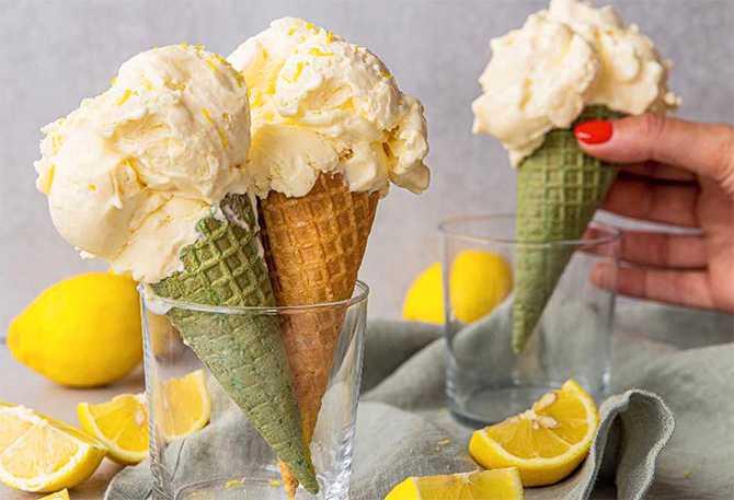 Lemon curdglass – gräddig och len.